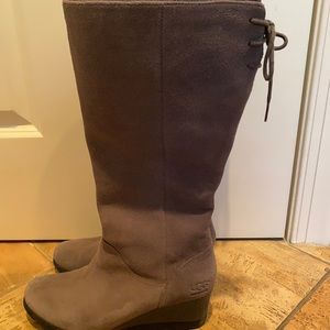 Ugg Dawna Winter Boots Sz 10 Excellent Condition